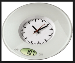 OMG, It's a Clock and a Scale...It's TIME!